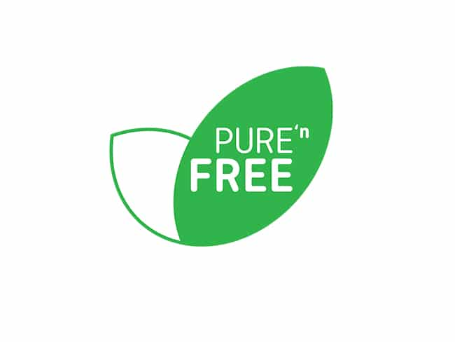 Food Product Branding Design | Pure 'n Free