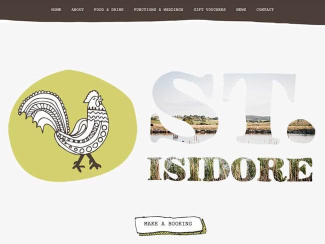 Milton Web Designer | Is Isidore Restaurant
