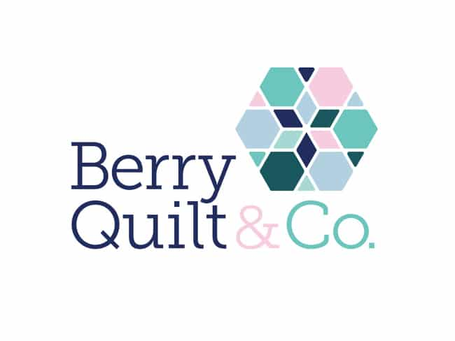 Berry Logo Design | Berry Quilt & Co.