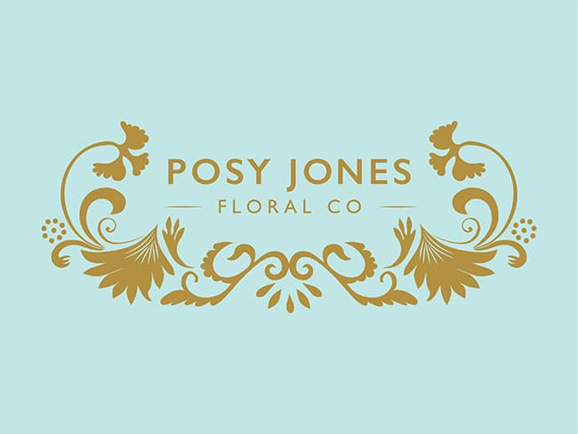 Florist Logo Design Kiama | Posy Jones